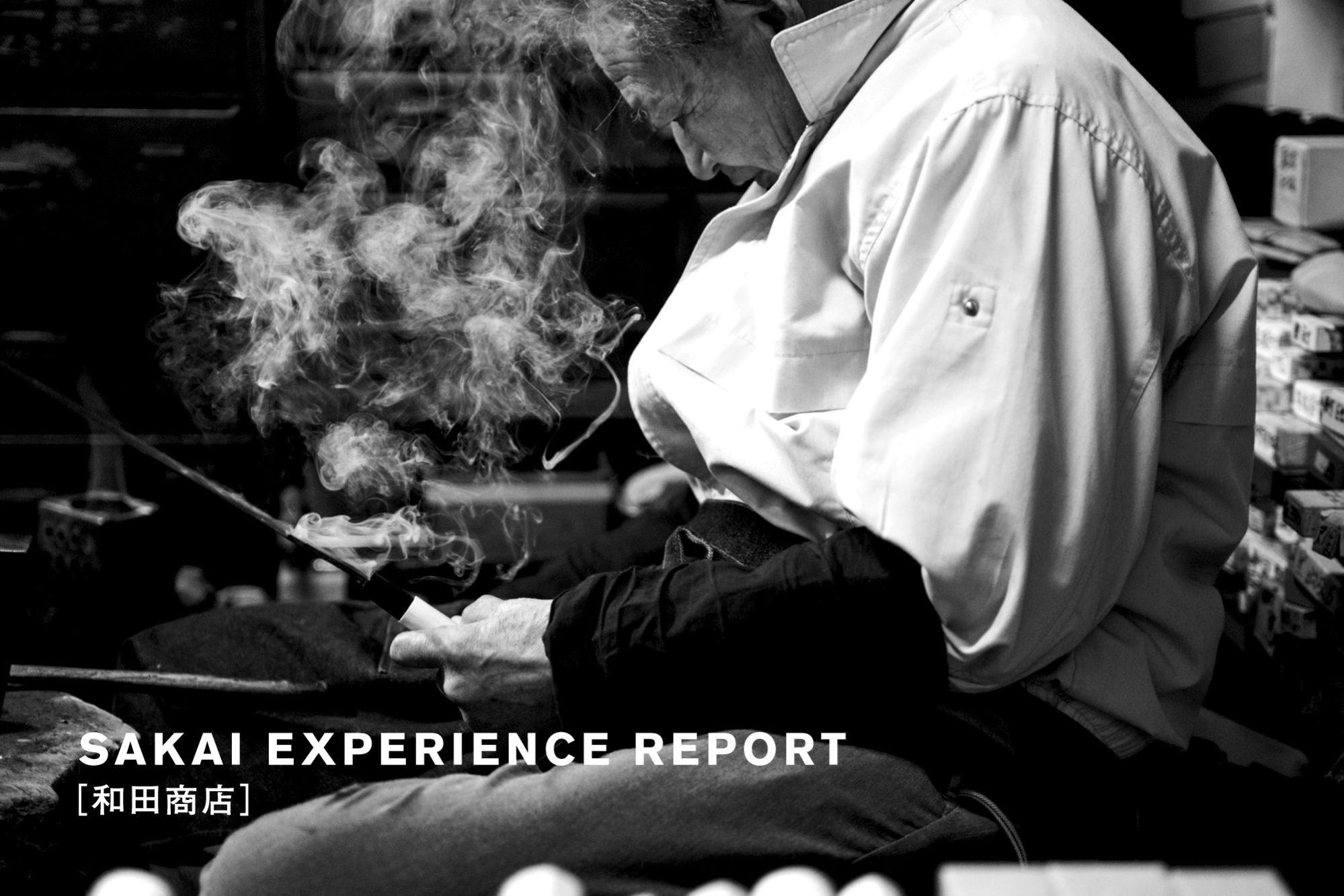 堺打刃物づくり体験レポート2 [和田商店 包丁研ぎ・柄付け体験]