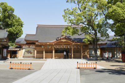 堺の境で旅の厄祓い  -方違神社-